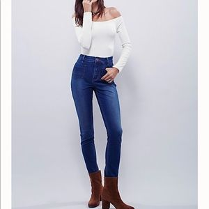 Free People Beverely High-Rise Skinny jeans sz29